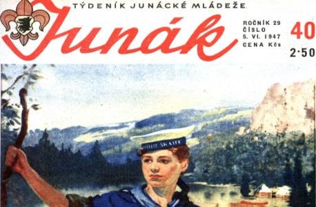 JUNÁK - vůbec nejstarší časopis - od roku 1915!