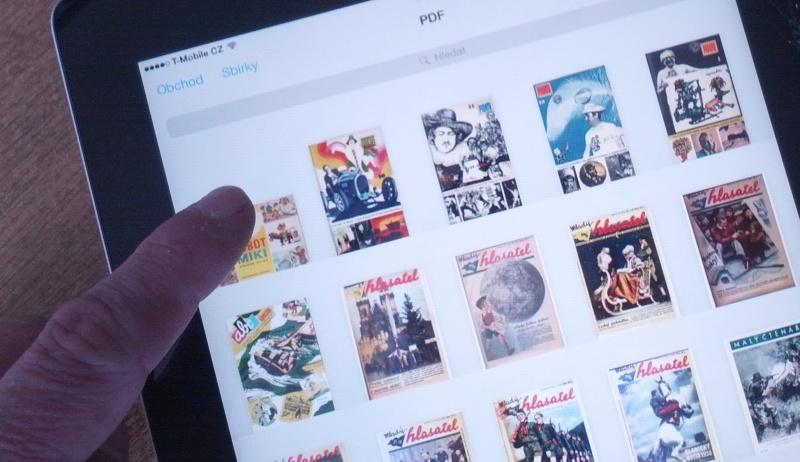 tablet e-book
