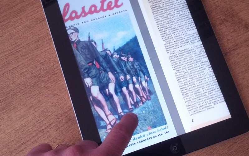 tablet časopisy 2