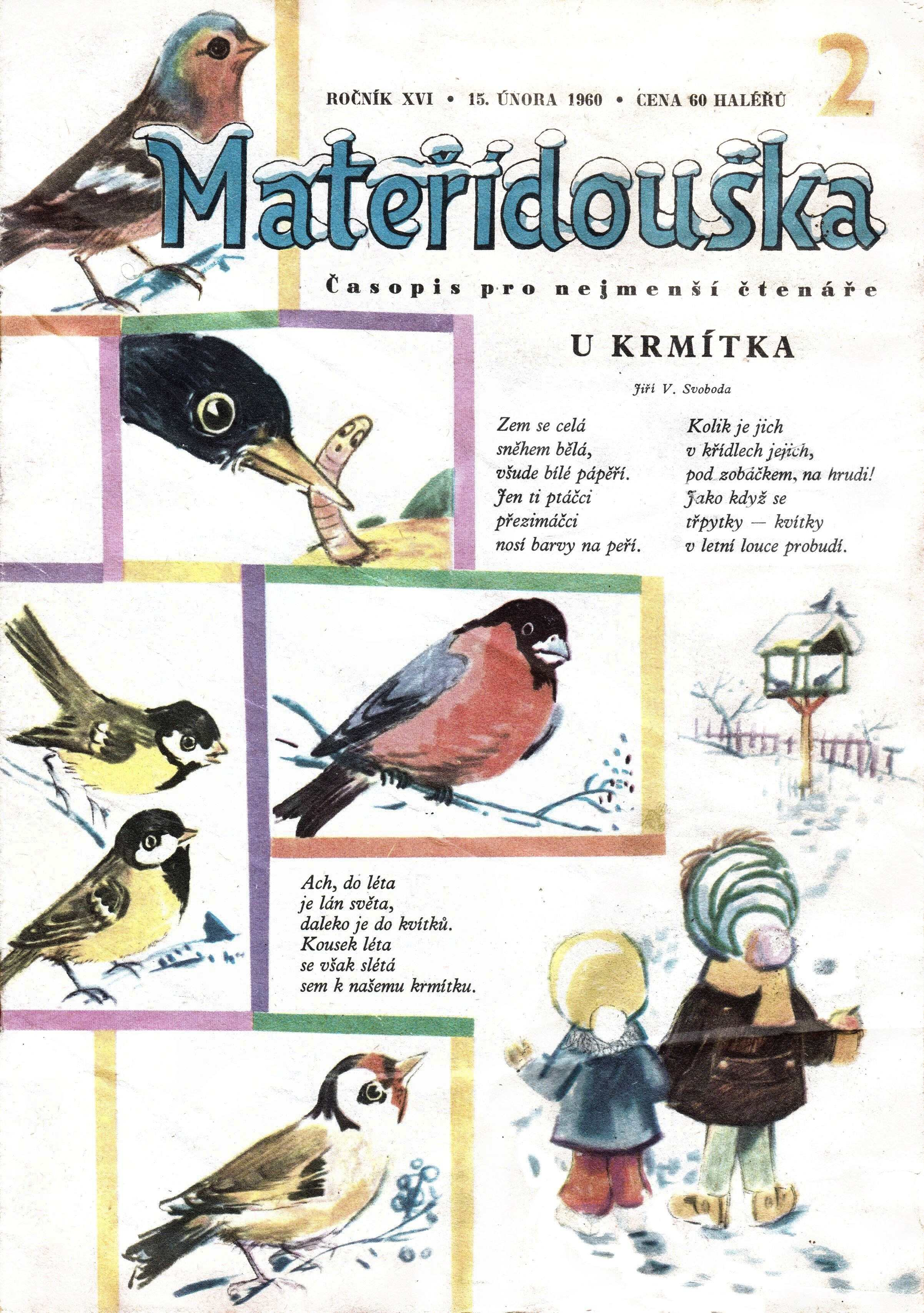 7945a4262 MATEŘÍDOUŠKA – premiéra na tomto webu – Staré časopisy pro děti a ...