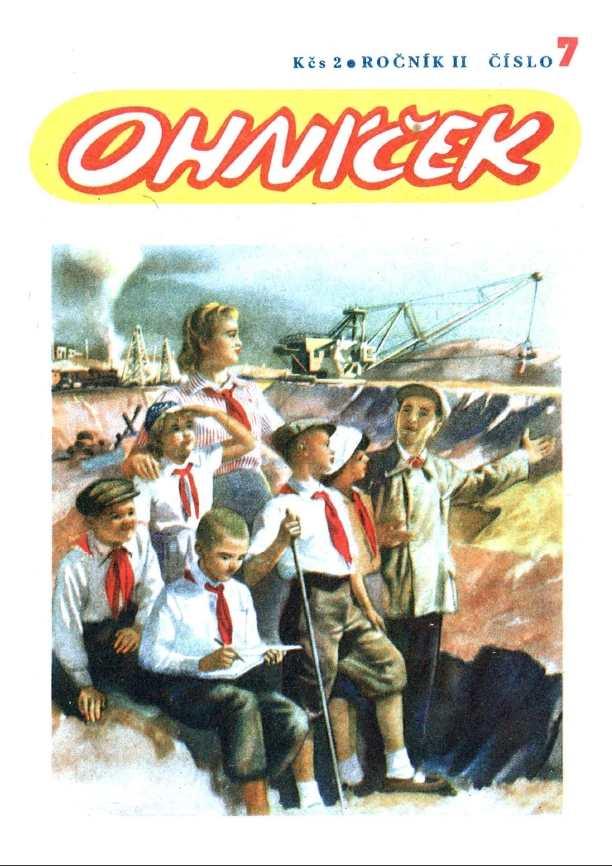 OHNÍČEK - ročník 02 (1951-52) - 07