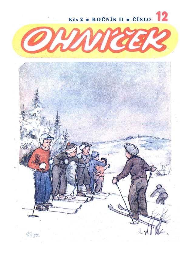 OHNÍČEK - ročník 02 (1951-52) - 12