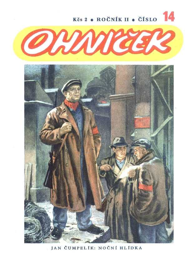 OHNÍČEK - ročník 02 (1951-52) - 14
