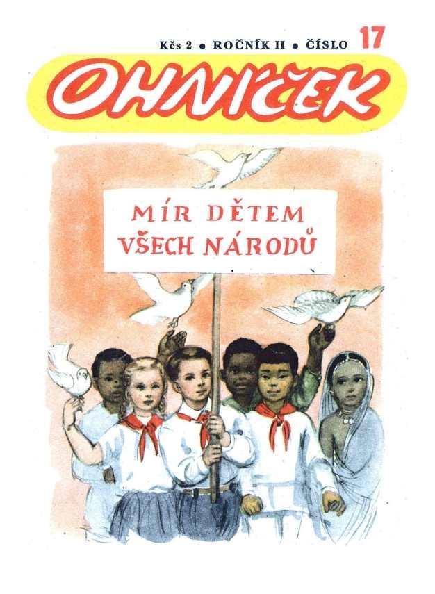 OHNÍČEK - ročník 02 (1951-52) - 17