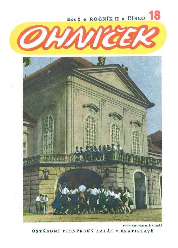 OHNÍČEK - ročník 02 (1951-52) - 18
