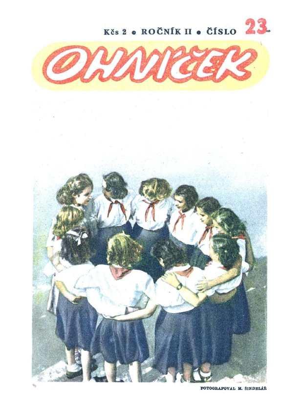 OHNÍČEK - ročník 02 (1951-52) - 23