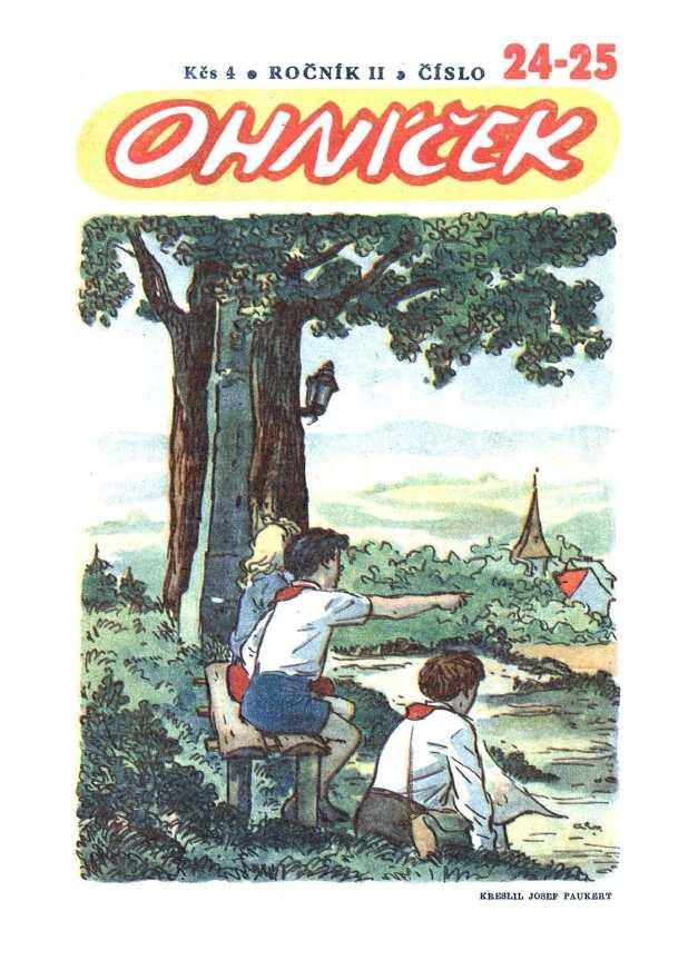 OHNÍČEK - ročník 02 (1951-52) - 24-25
