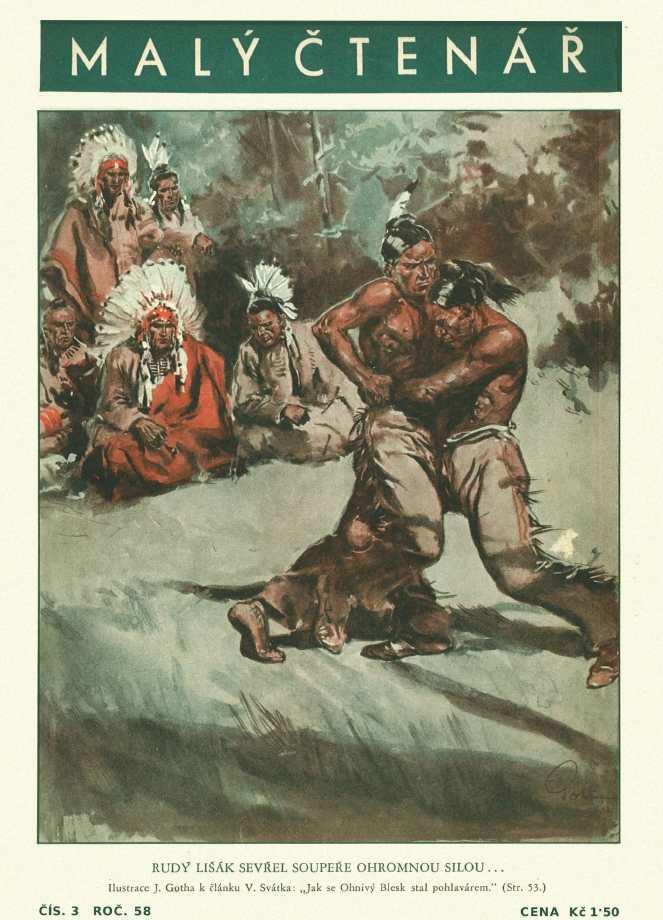 MALÝ ČTENÁŘ - roč.58 (1938-39) číslo 03