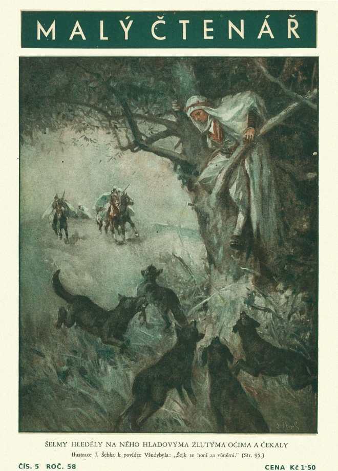 MALÝ ČTENÁŘ - roč.58 (1938-39) číslo 05