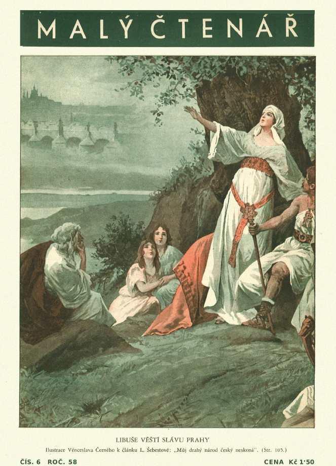 MALÝ ČTENÁŘ - roč.58 (1938-39) číslo 06