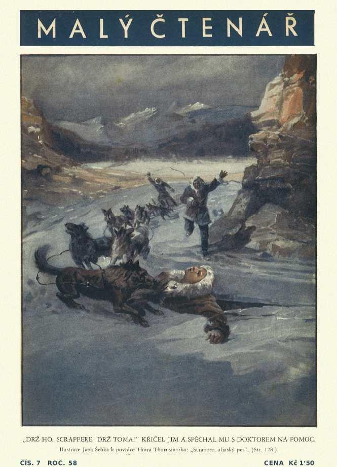 MALÝ ČTENÁŘ - roč.58 (1938-39) číslo 07