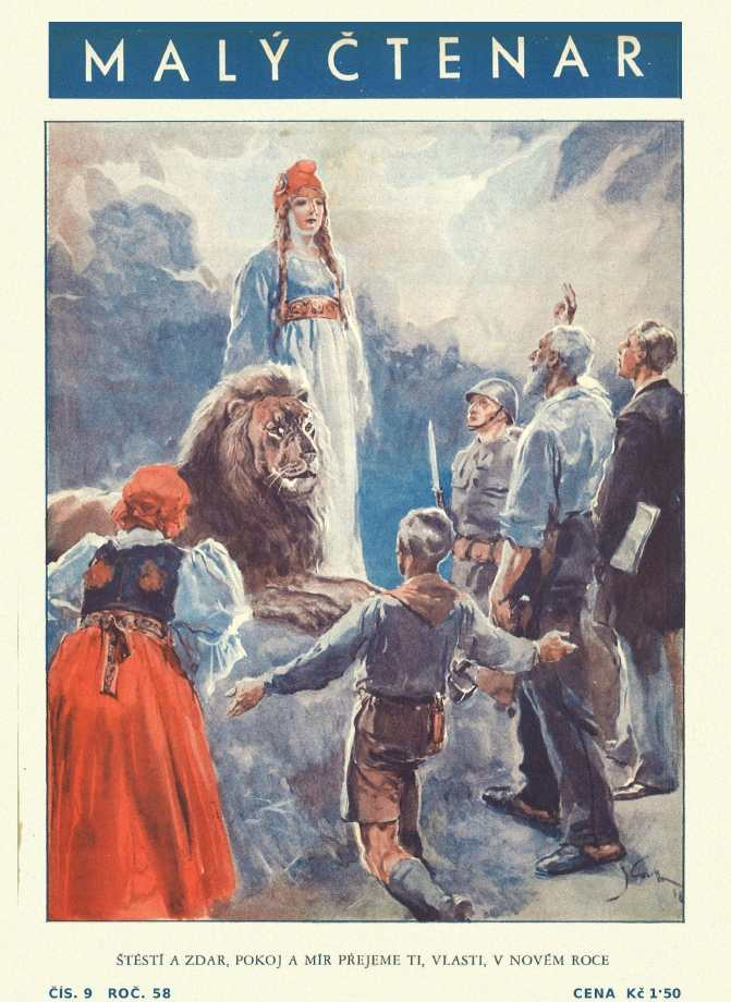 MALÝ ČTENÁŘ - roč.58 (1938-39) číslo 09