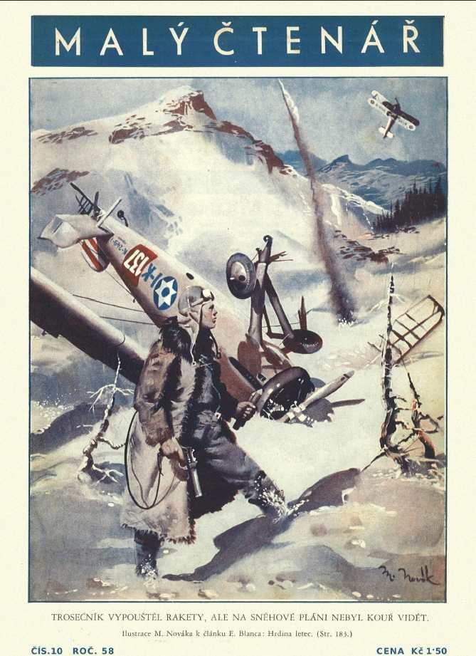 MALÝ ČTENÁŘ - roč.58 (1938-39) číslo 10