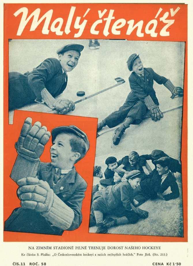 MALÝ ČTENÁŘ - roč.58 (1938-39) číslo 11