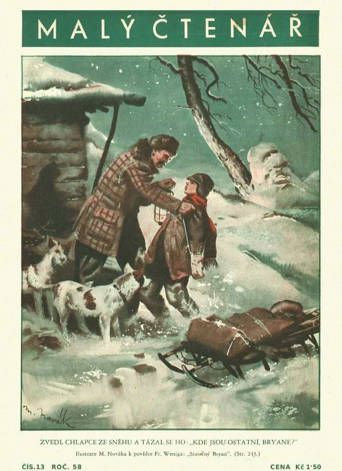 MALÝ ČTENÁŘ - roč.58 (1938-39) číslo 13