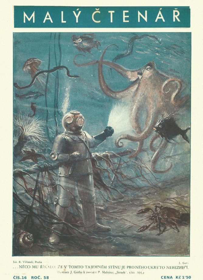 MALÝ ČTENÁŘ - roč.58 (1938-39) číslo 16