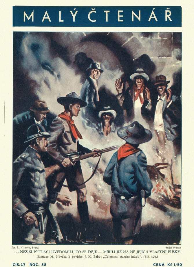 MALÝ ČTENÁŘ - roč.58 (1938-39) číslo 17