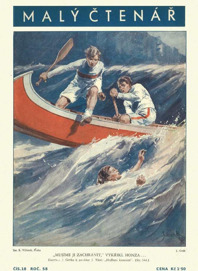 MALÝ ČTENÁŘ - roč.58 (1938-39) číslo 18