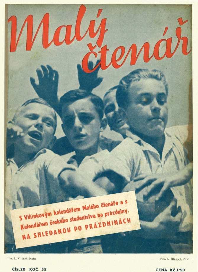 MALÝ ČTENÁŘ - roč.58 (1938-39) číslo 20