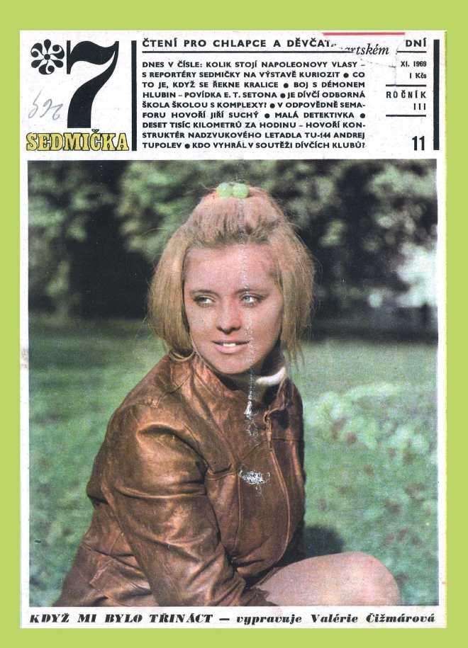 SEDMIČKA - 3.ročník (1969-70) - číslo 11
