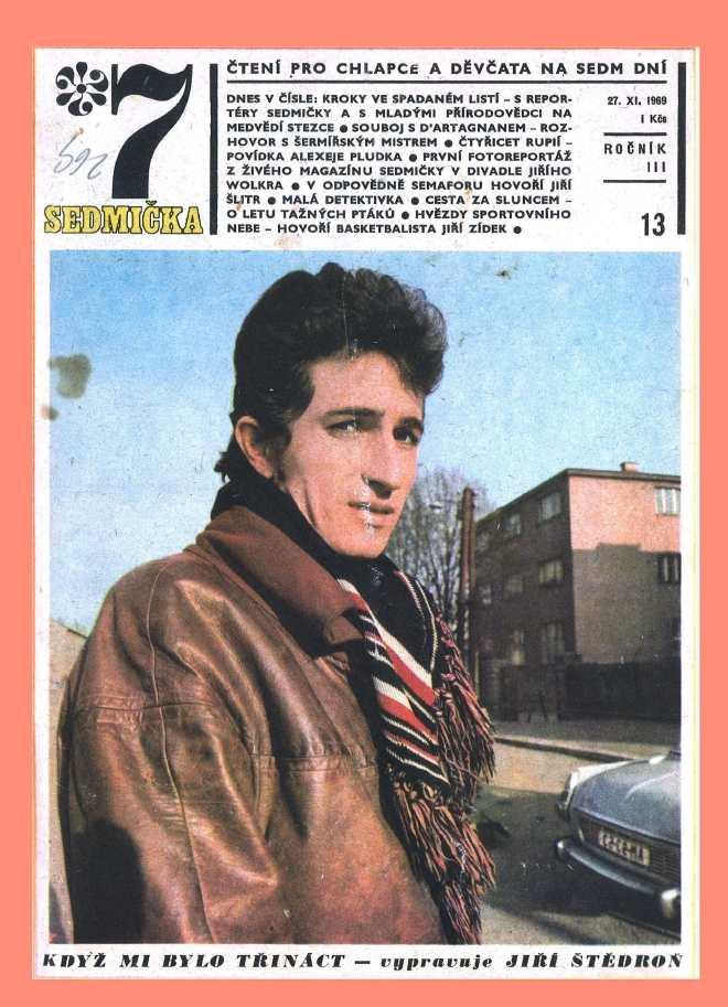 SEDMIČKA - 3.ročník (1969-70) - číslo 13