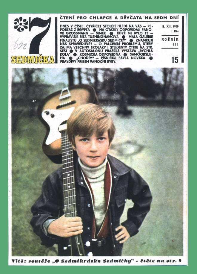 SEDMIČKA - 3.ročník (1969-70) - číslo 15
