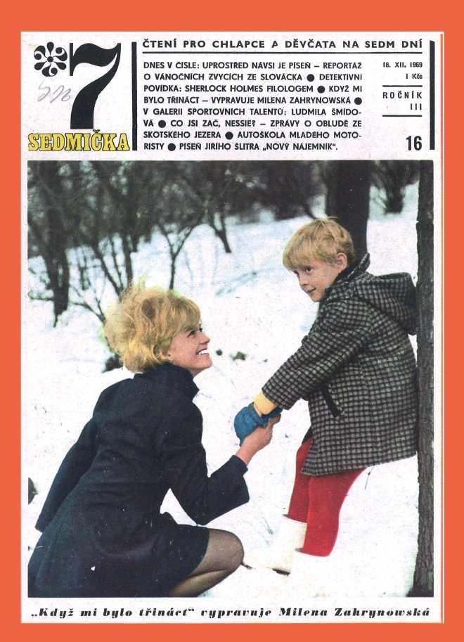 SEDMIČKA - 3.ročník (1969-70) - číslo 16
