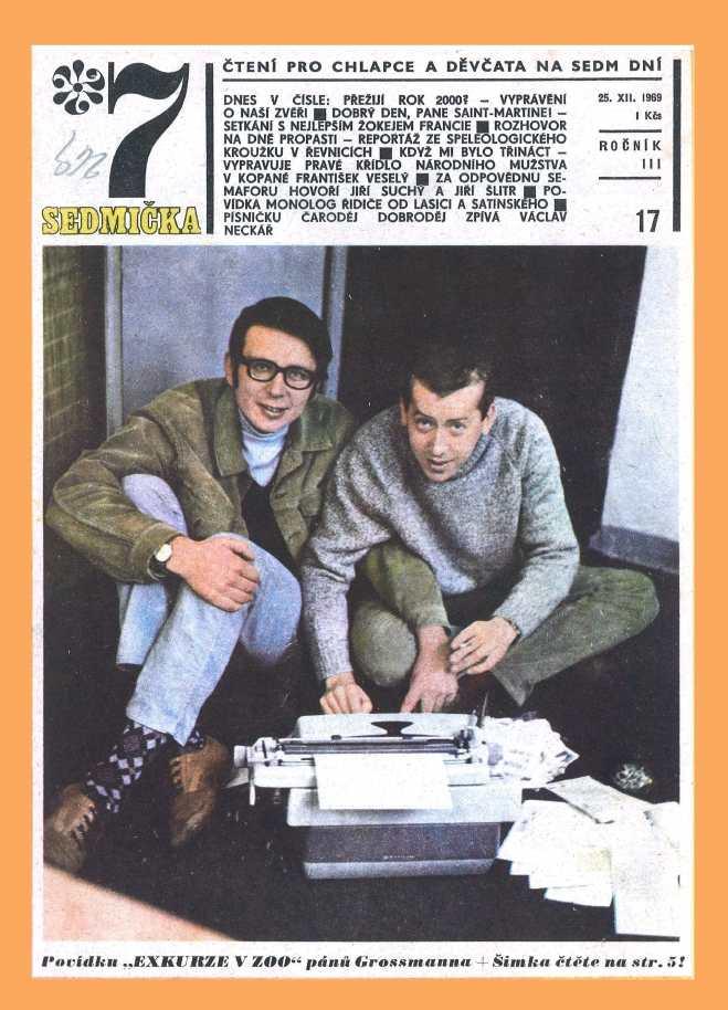 SEDMIČKA - 3.ročník (1969-70) - číslo 17