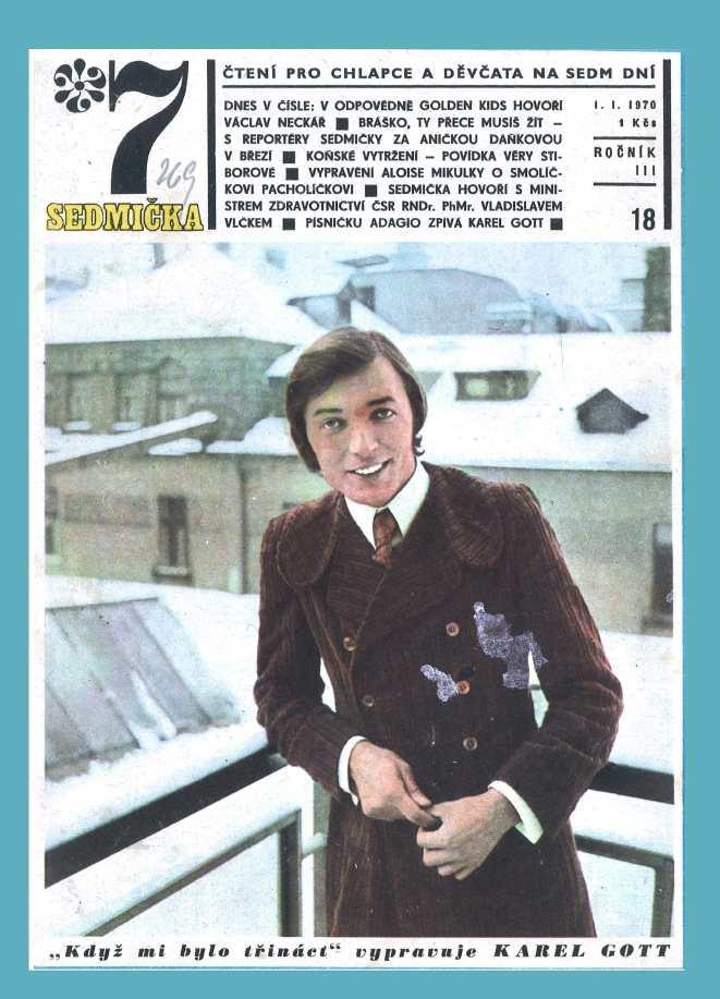 SEDMIČKA - 3.ročník (1969-70) - číslo 18