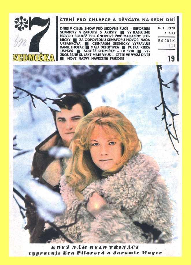 SEDMIČKA - 3.ročník (1969-70) - číslo 19