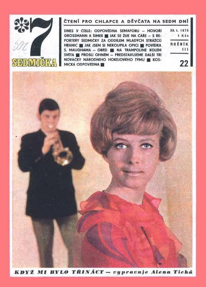 SEDMIČKA - 3.ročník (1969-70) - číslo 22