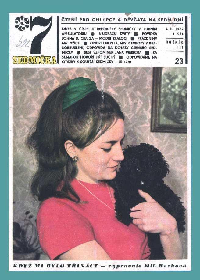 SEDMIČKA - 3.ročník (1969-70) - číslo 23