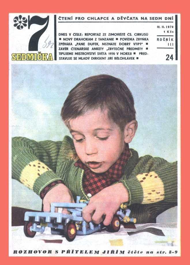 SEDMIČKA - 3.ročník (1969-70) - číslo 24