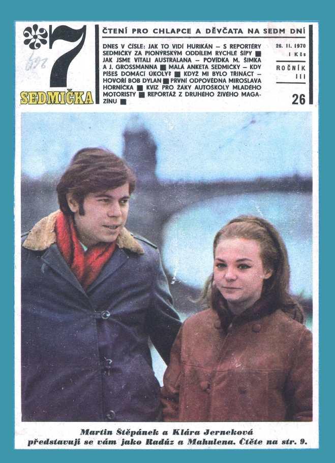 SEDMIČKA - 3.ročník (1969-70) - číslo 26