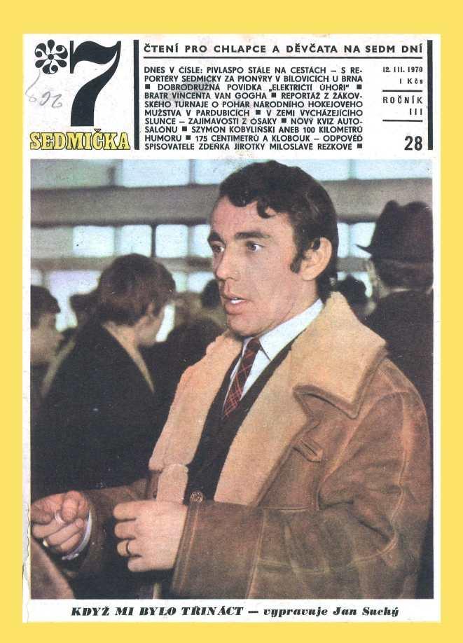 SEDMIČKA - 3.ročník (1969-70) - číslo 28