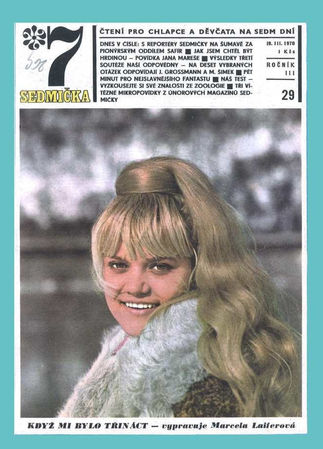 SEDMIČKA - 3.ročník (1969-70) - číslo 29