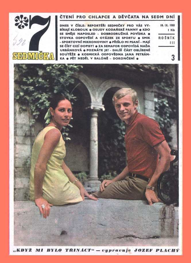 SEDMIČKA - 3.ročník (1969-70) - číslo 3