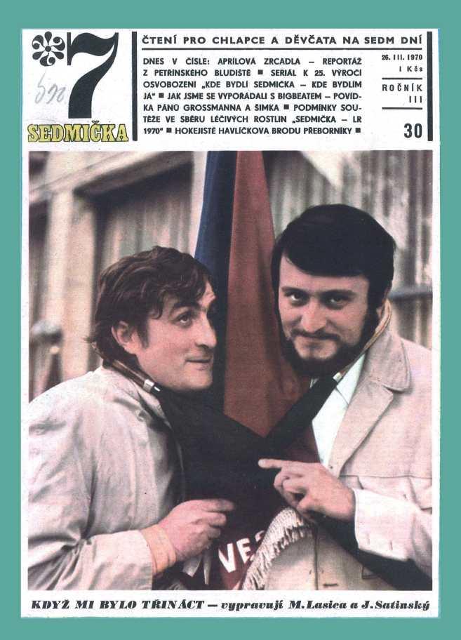 SEDMIČKA - 3.ročník (1969-70) - číslo 30