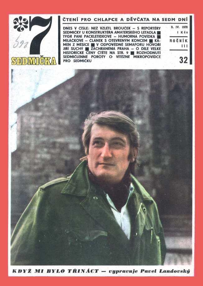 SEDMIČKA - 3.ročník (1969-70) - číslo 32