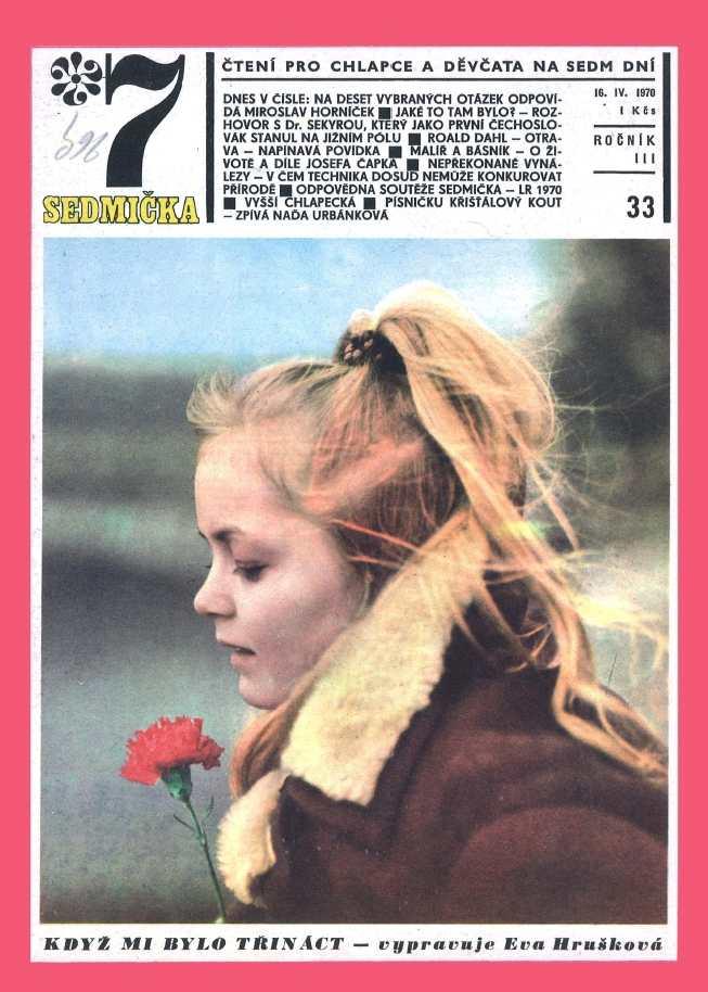 SEDMIČKA - 3.ročník (1969-70) - číslo 33