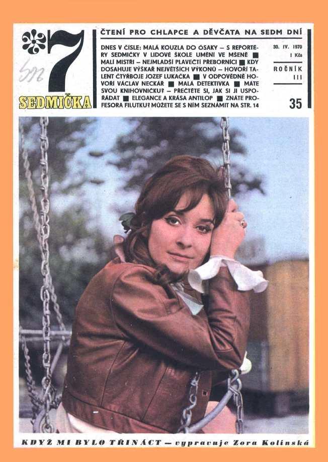 SEDMIČKA - 3.ročník (1969-70) - číslo 35