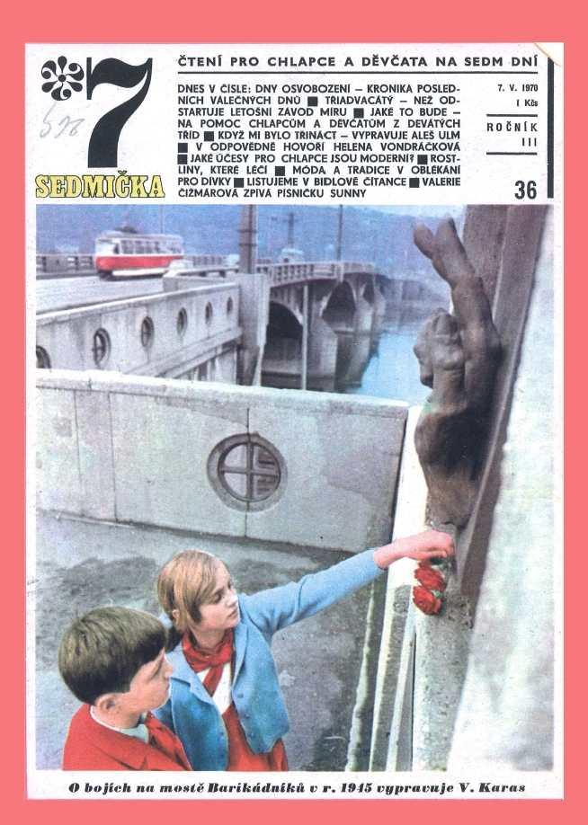 SEDMIČKA - 3.ročník (1969-70) - číslo 36