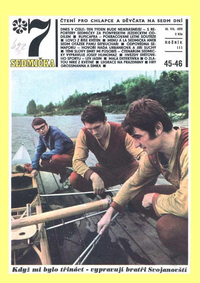 SEDMIČKA - 3.ročník (1969-70) - číslo 45-46