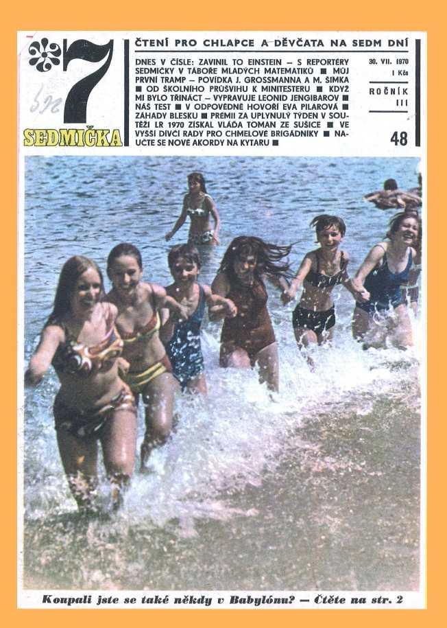 SEDMIČKA - 3.ročník (1969-70) - číslo 48