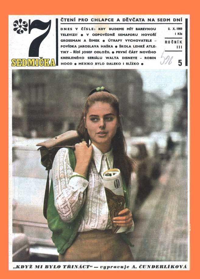 SEDMIČKA - 3.ročník (1969-70) - číslo 5