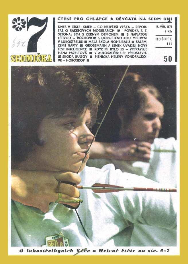 SEDMIČKA - 3.ročník (1969-70) - číslo 50