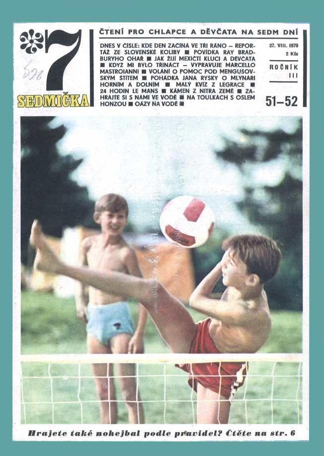 SEDMIČKA - 3.ročník (1969-70) - číslo 51-52