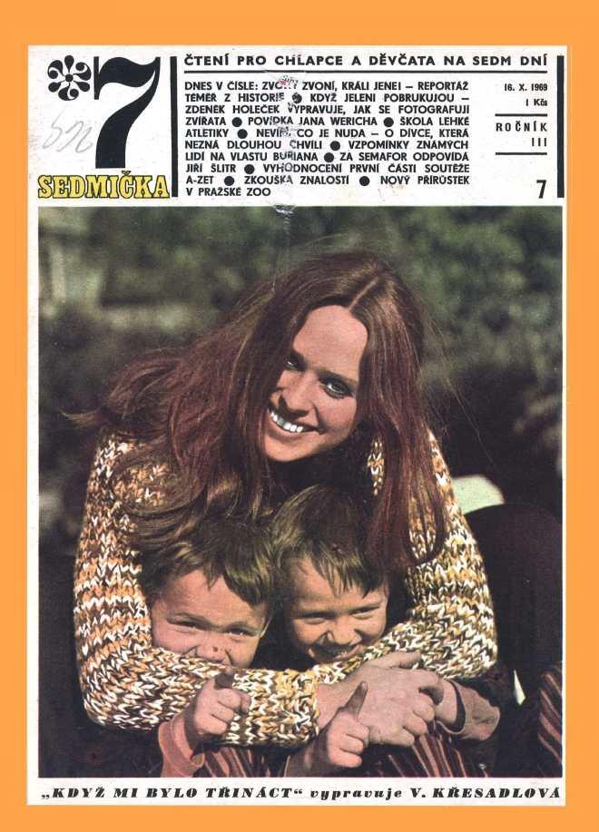 SEDMIČKA - 3.ročník (1969-70) - číslo 7