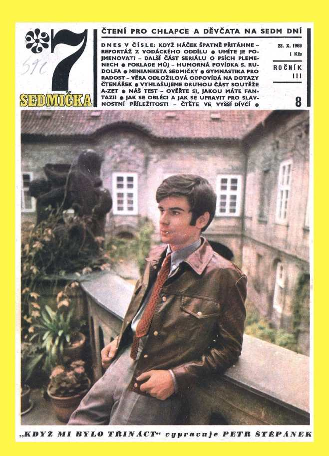 SEDMIČKA - 3.ročník (1969-70) - číslo 8