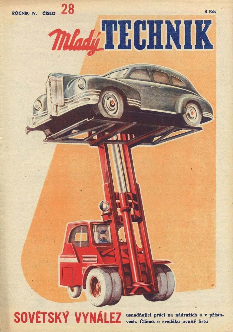 MLADÝ TECHNIK 4 (1950) - 28